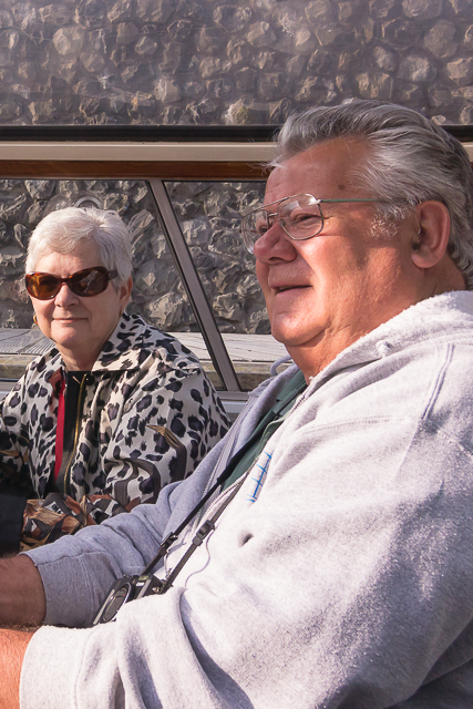The Webbers from Alberta sat across from us on our canal tour.