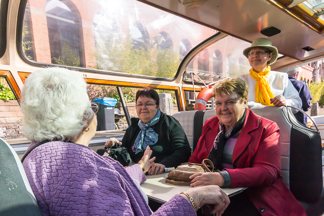 These sisters from Australia enjoyed the canal tour. So did we.
