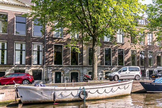The Museum of Bags and Purses on Herengracht near Rembrandtplein.