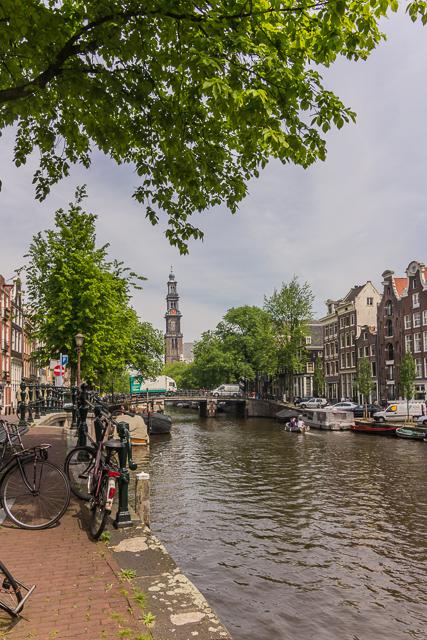 Westerkerk in the distance.
