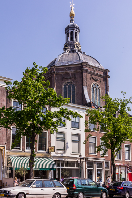 During the Reformation Protestants simply took over existing Catholic churches. Marekerk was the first Protestant church built after the Reformation.