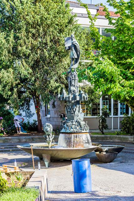 Osnabrück History fountain.