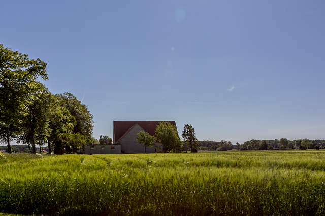Hedemer Buchholz farmhouse.
