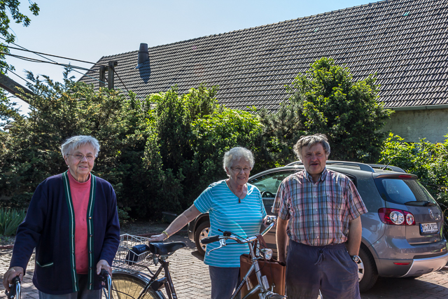 Residents of Hedemer Buchholz.