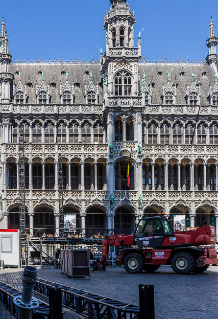 The Maison du Roi is now the Brussels City Museum. It is also called The Breadhouse (Broodhuis in Dutch).