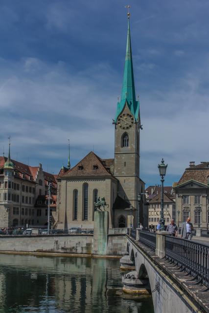 3. Fraumunster (Lutheran).