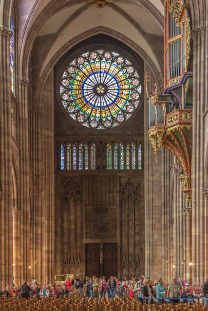5. Strasbourg Cathedral (Roman Catholic).