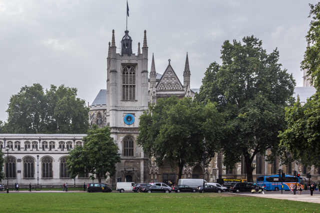 St Margaret's Church adjoins Parliament Square.