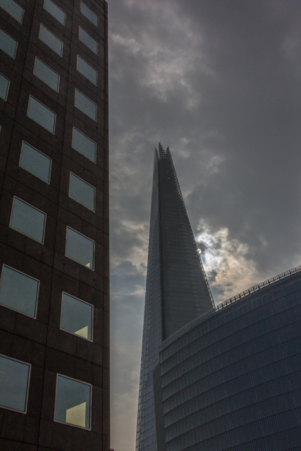 Another view of the Shard. This 87-storey building is the tallest in the European Union. It opened to the public in February of this year.