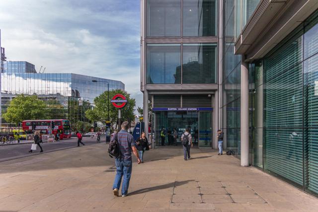 Euston Square Station.