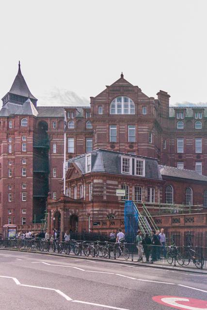 UCL buildings.