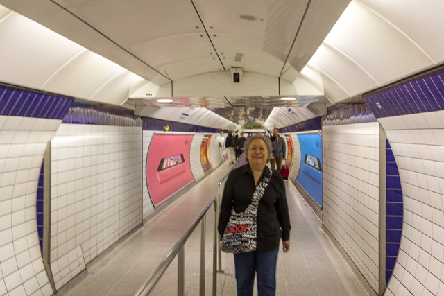 The Tube gets its name from all of the circular tunnels.