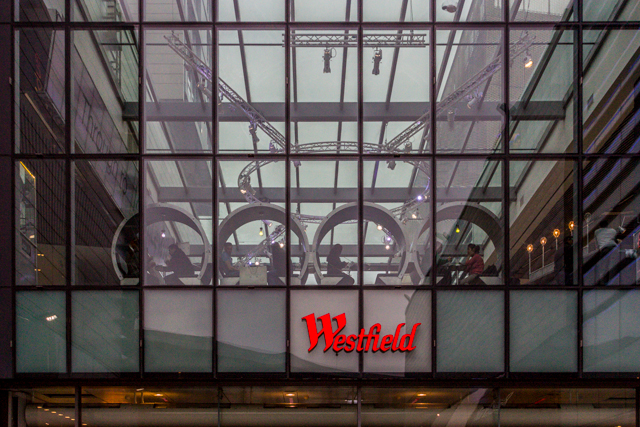 Westfield Centre is the largest shopping center in Europe with more than 300 stores and 90 restaurants. It opened in September 2011.
