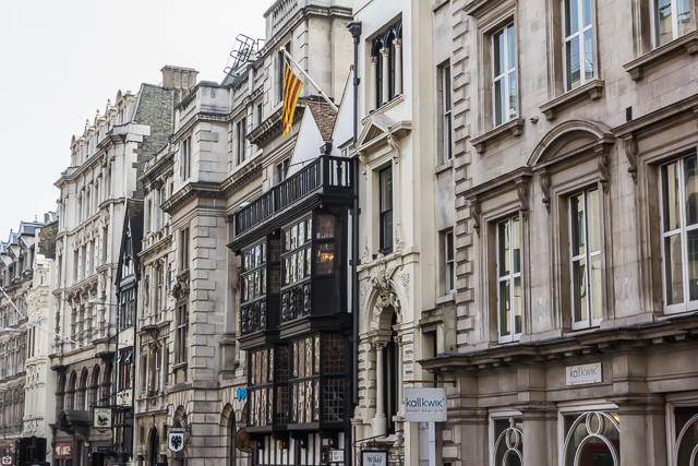 Prince Henry's Room on Fleet Street. Samuel Pepys frequented this place in the 17th century when it was called The Fountain Tavern.