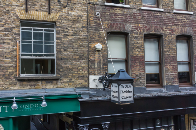 Charles Dickens is reputed to have imbibed at Ye Olde Cheshire Cheese on Fleet Street.