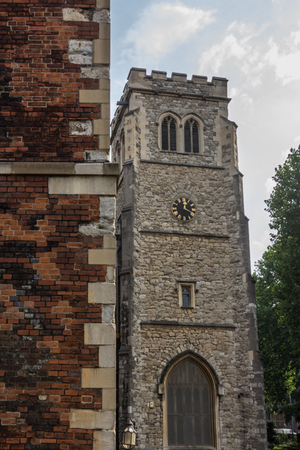 The oldest portion of Lambeth Palace.