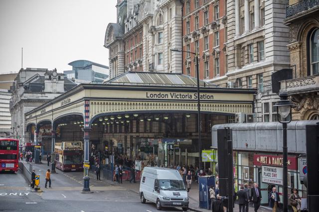 Victoria Station.