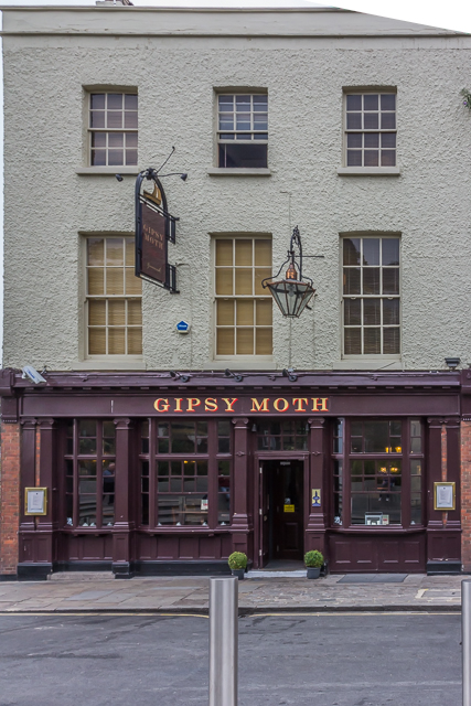 The Gipsy Moth pub next door to the Cutty Sark.