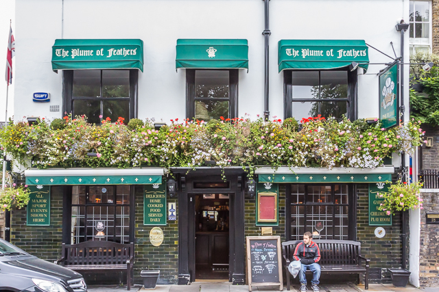The Plume of Feathers was established in 1691.