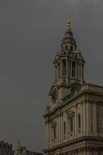 St Paul's southwest tower.
