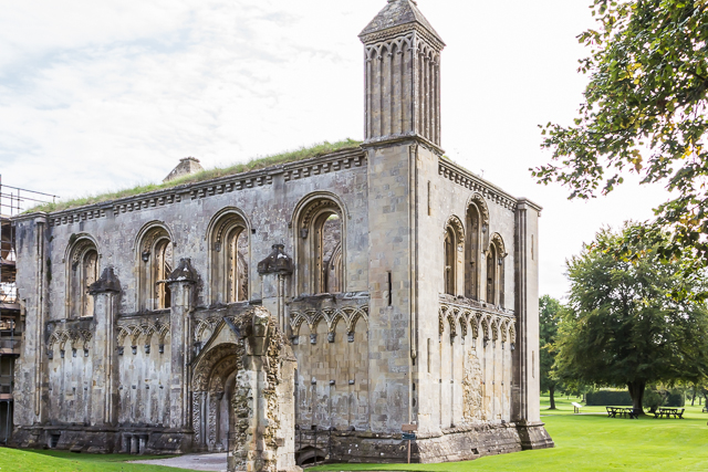 The Lady Chapel west of the Great Church was completed in 1188.