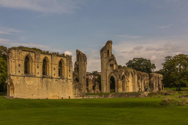 London 2013: The Monks Of Glastonbury Abbey