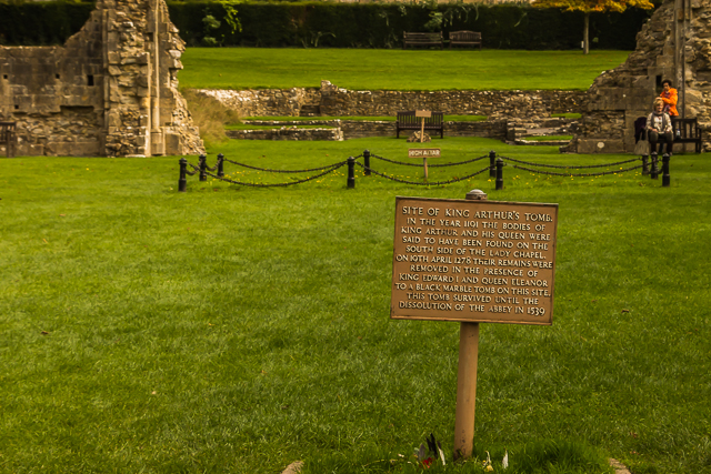 King Arthur's tomb.