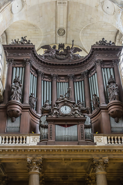 The great organ of Saint-Sulpice.