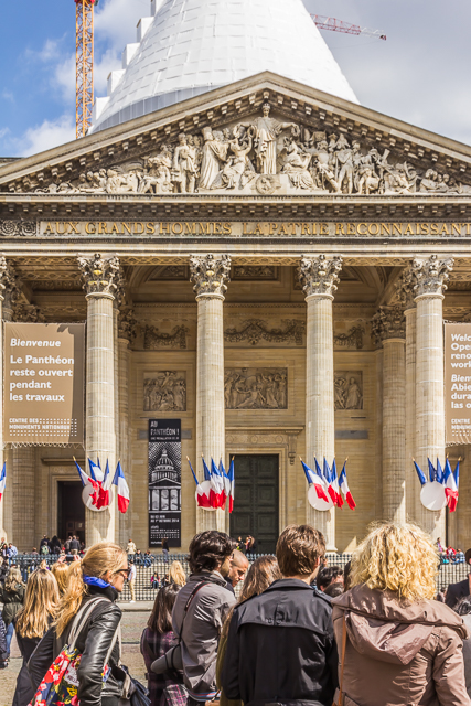 The Pantheon is in the 5th arrondissement just a couple of blocks from the Sorbonne.