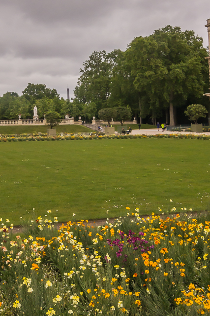 Luxembourg Garden view.