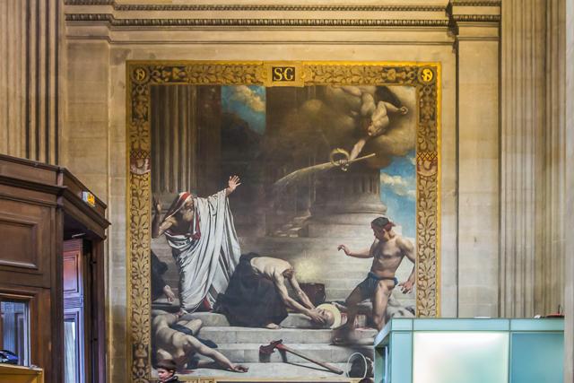 The Martyrdom of Saint-Denis by Léon Bonnat.