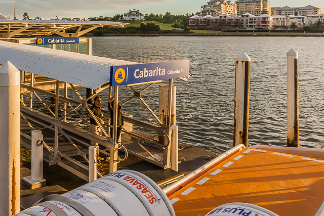 We caught the ferry on the Parramatta River at Cabarita Point. It would take about 30 minutes to reach the Circular Quay.