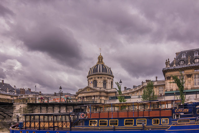 The Institut de France from the Seine.