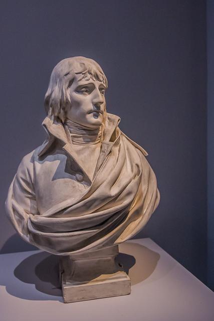 Bust of General Bonaparte by Charles-Louis Corbet.