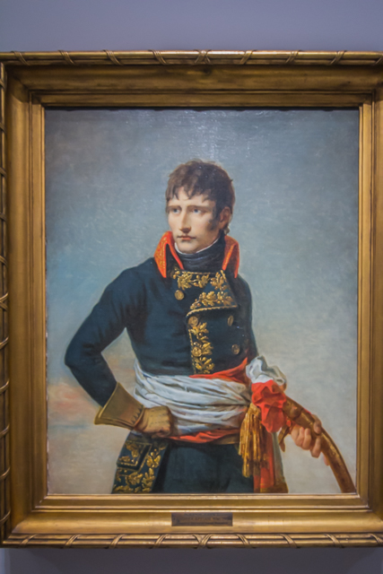 An early painting of Napoleon by x.