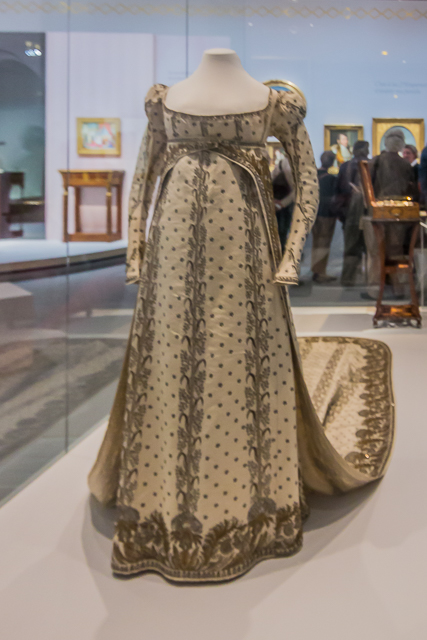 One of Joséphine's gowns.