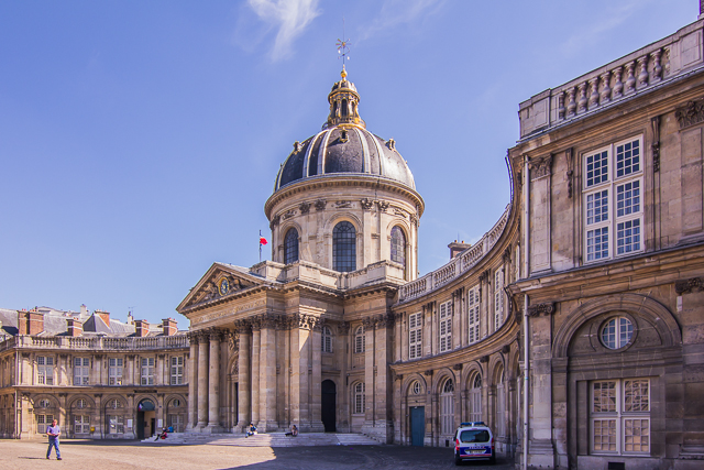 The Palais Institut de France, formerly the College of the Four Nations.