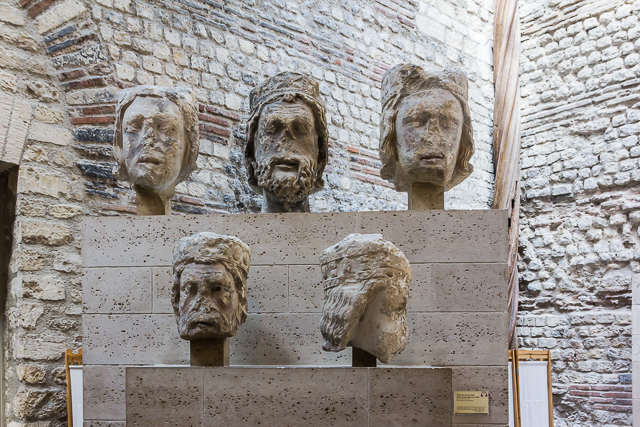 Five more of the Tetes de roi du Juda.