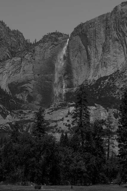 Yosemite Falls from Yosemite Valley.