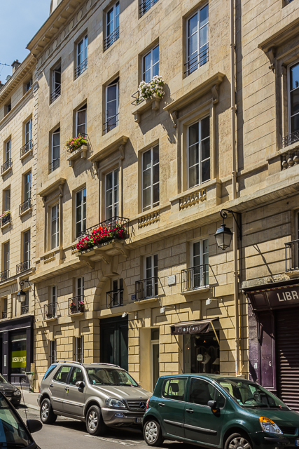 Sylvia Beach's Shakespeare and Company was at #12 Rue de l'Odéon.