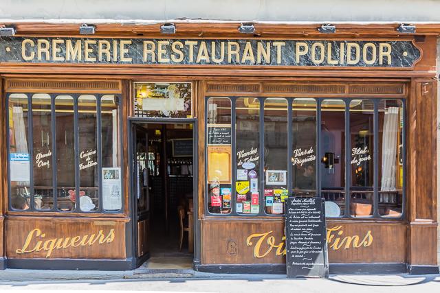 Le Polidor on Rue Monsieur le Prince.