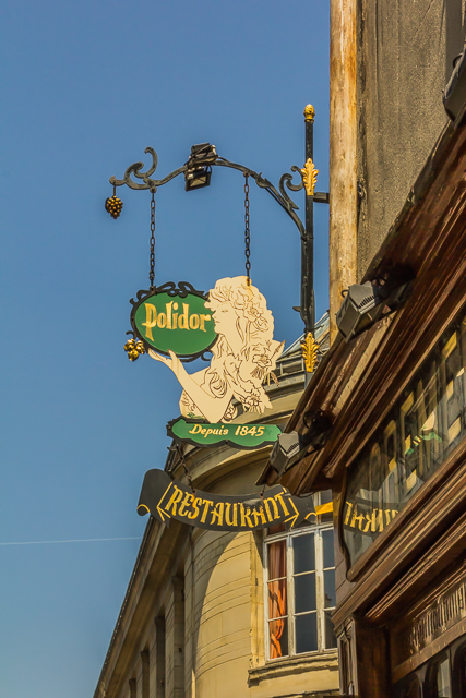 The restaurant dates back to 1845.
