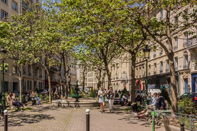Rue l'Estrapade.