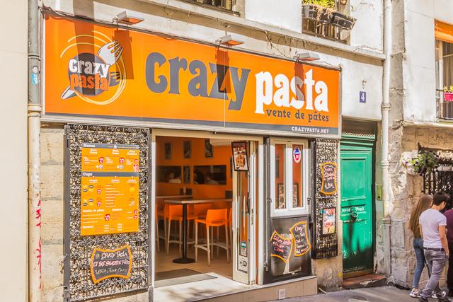 Crazy Pasta on Rue Blainville.