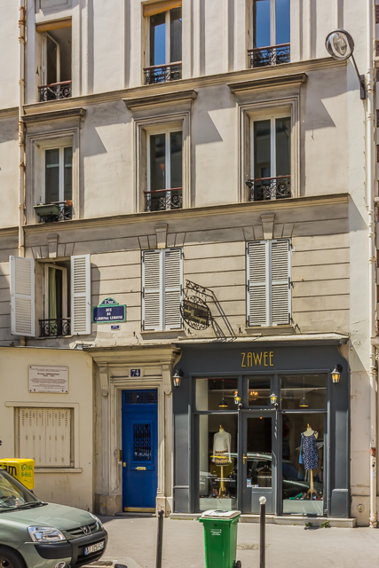 74 Rue du Cardinal-Lemoine.