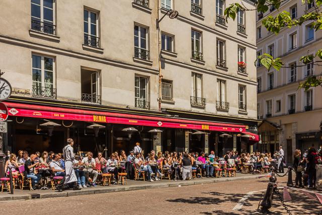 Cafe Delmas on Place Cx.