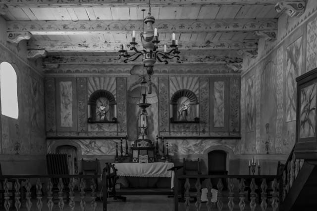 The Mission's main chapel.