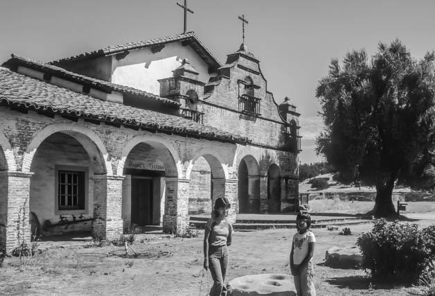 Mission San Antonio de Padua in 1983.