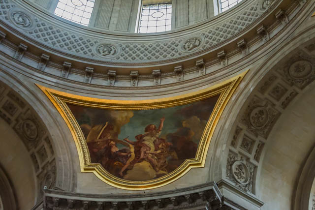 There are more paintings by La Fosse below the dome.