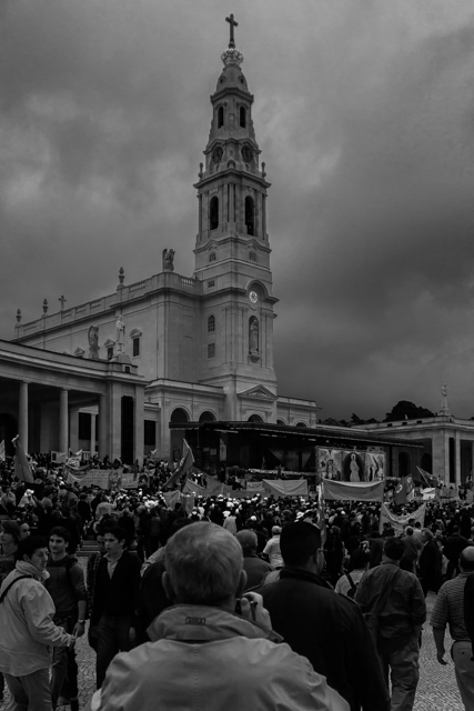 Basilica of Our Lady of the Rosary at the Sanctuary of Fatima.
